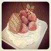 お誕生日クリスマスケーキ