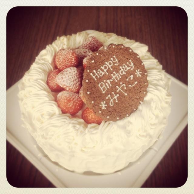 みやこちゃんお誕生日ケーキ