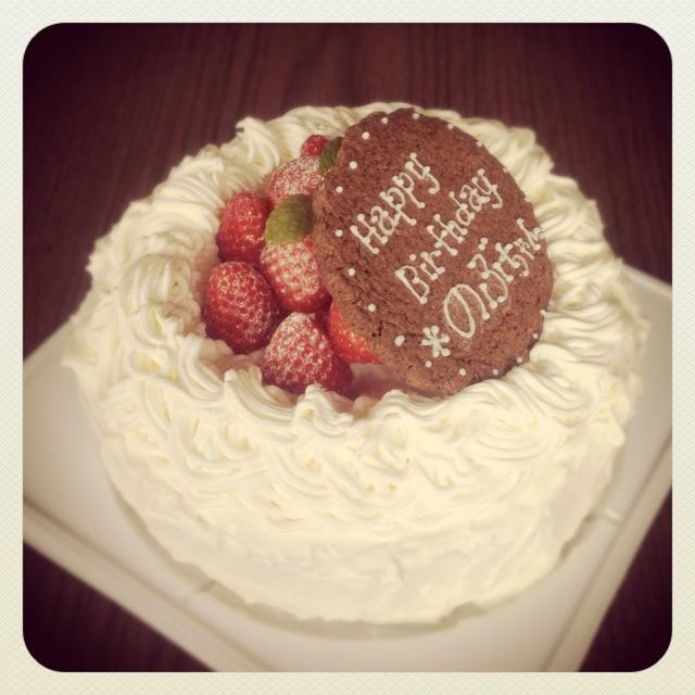 のぶちゃんお誕生日ケーキ