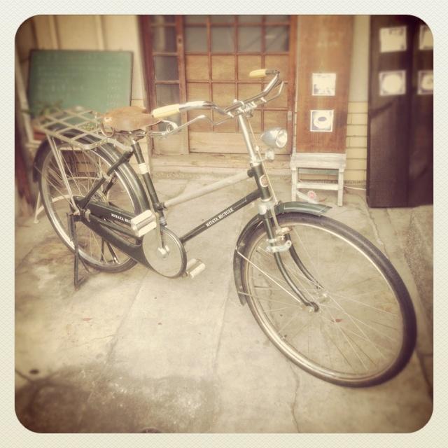 自転車パンク修理